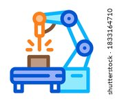 manufacturing engineering... | Shutterstock .eps vector #1833164710