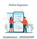 businessman personal assistant...   Shutterstock .eps vector #1833263599