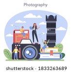 photography school course.... | Shutterstock .eps vector #1833263689