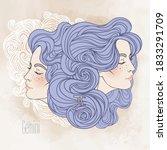 Zodiac Sign  Illustration Of...