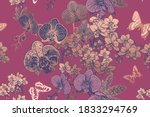 Floral Seamless Pattern. Exotic ...