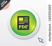 pdf file document icon....