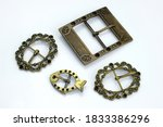 Decorative Buckles Made Of...