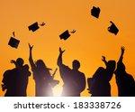 diverse international students...   Shutterstock . vector #183338726