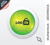 login sign icon. sign in symbol....