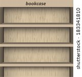 bookcase background for ebook | Shutterstock .eps vector #183341810