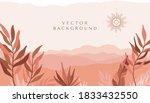 vector abstract creative... | Shutterstock .eps vector #1833432550