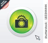 photo camera sign icon. photo...