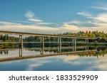 Concrete Bridge With A...