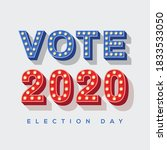 Vote 2020 Icon  Vector...