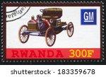 rwanda   circa 2010  stamp...   Shutterstock . vector #183359678