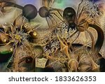 3d Abstract Fractal Graphics...