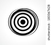 target   aim icon | Shutterstock .eps vector #183367628