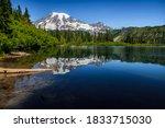 Beautful Reflection Of Mt...