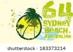 bondi beach sydney australia...