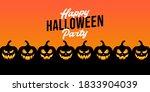 halloween background vector... | Shutterstock .eps vector #1833904039