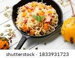 Pasta Or Spaghetti With Pumpkin ...