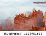 Fog In Bryce Canyon National...