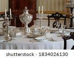 Old Vintage Silver Tableware...