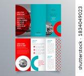 brochure design  brochure... | Shutterstock .eps vector #1834049023