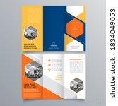brochure design  brochure... | Shutterstock .eps vector #1834049053