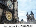 Astronomical Clock Of In Old...
