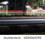 cars motion with low shutterspeed