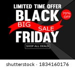 black friday big sale...   Shutterstock .eps vector #1834160176