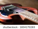 Electro Guitar Strings Macro...