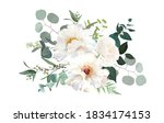ivory beige  white and creamy... | Shutterstock .eps vector #1834174153