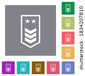 military insignia with three... | Shutterstock .eps vector #1834207810