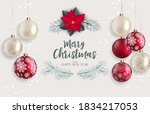 holiday new year and merry...   Shutterstock .eps vector #1834217053