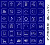 vector set of flat icons for e...