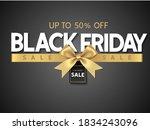 black friday sale design... | Shutterstock .eps vector #1834243096