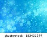 Deep Blue Lights Background  ...