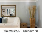 living room interior with couch ... | Shutterstock . vector #183432470