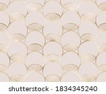 geometric seamless pattern with ... | Shutterstock .eps vector #1834345240