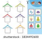 education game for children... | Shutterstock .eps vector #1834492600