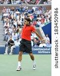 Roger Federer At A Public...