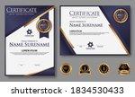 premium diploma modern...   Shutterstock .eps vector #1834530433