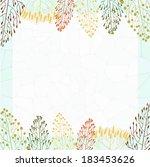 frame with grass | Shutterstock .eps vector #183453626
