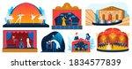 theater performance vector... | Shutterstock .eps vector #1834577839