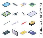 tablet repair icons set....   Shutterstock .eps vector #1834591183