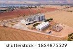 Grain Storage Silos In The...