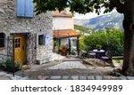 Gourdon  Alpes Maritimes France ...