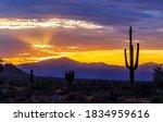 Colorful Desert Sunrise Skies...