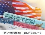 Visa United States Of America....