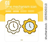 time mechanism badge premiun...