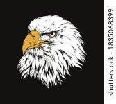 White Eagle Head Design...