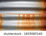 Brown Orange Rust Running Down...